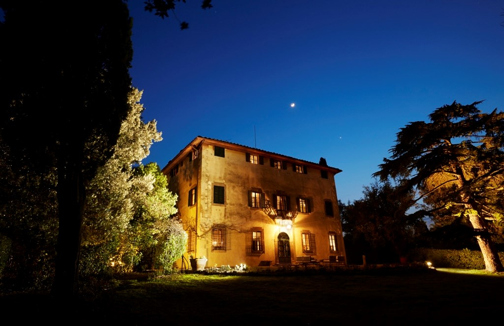 Tuscany by night
